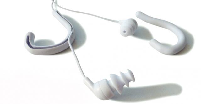 Swimbuds Short Cord Waterproof Headphones