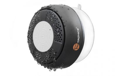 TaoTronics Water Resistant Wireless Bluetooth Stereo Shower Speaker