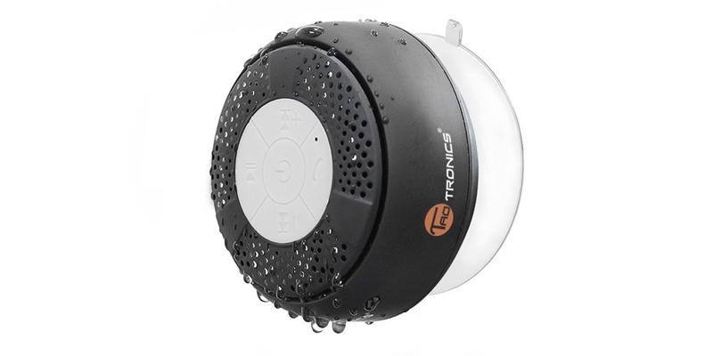 TaoTronics Water Resistant Wireless Bluetooth Stereo Shower Speaker