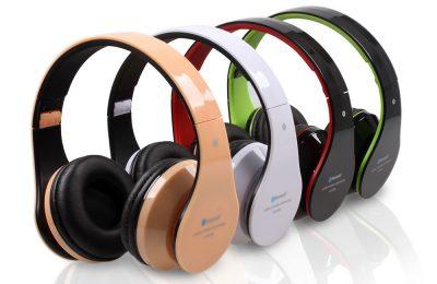 Wireless-bluetooth headphones & headsets