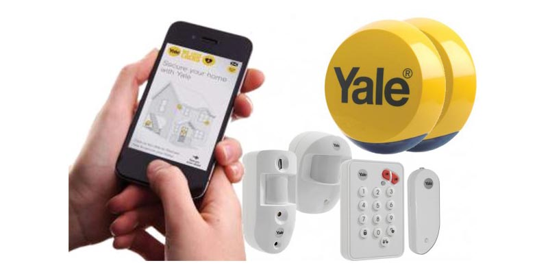 Yale EF-KIT3 Easy Fit Smart Phone Alarm Kit